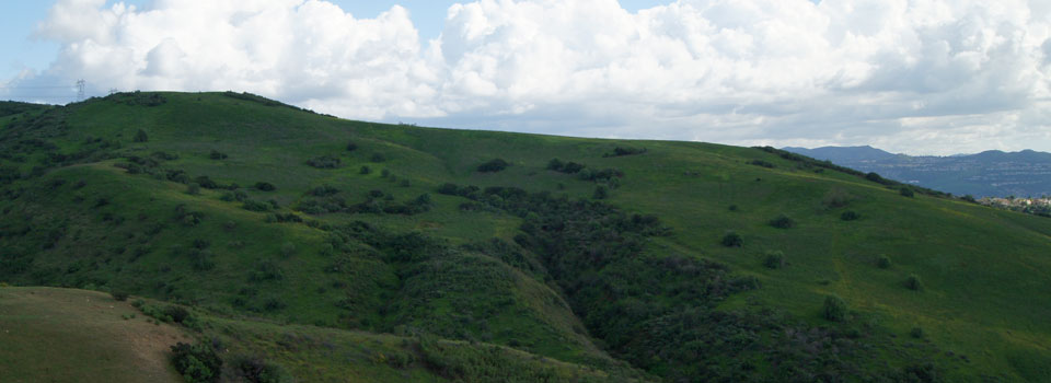 A view of Esperanza Hills from Casino Ridge